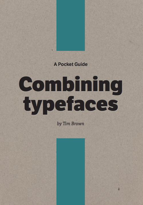 Download free ebook Combining Typefaces - Lapa Ninja